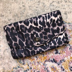 Travel Hanging Cosmetic Toiletry Bag - Leopard
